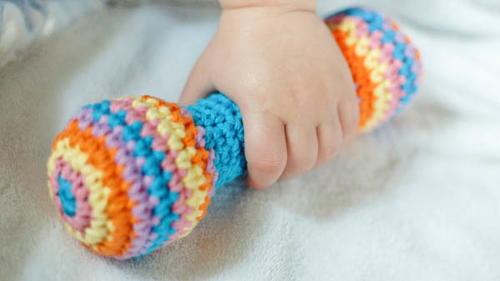 crochet-rattle