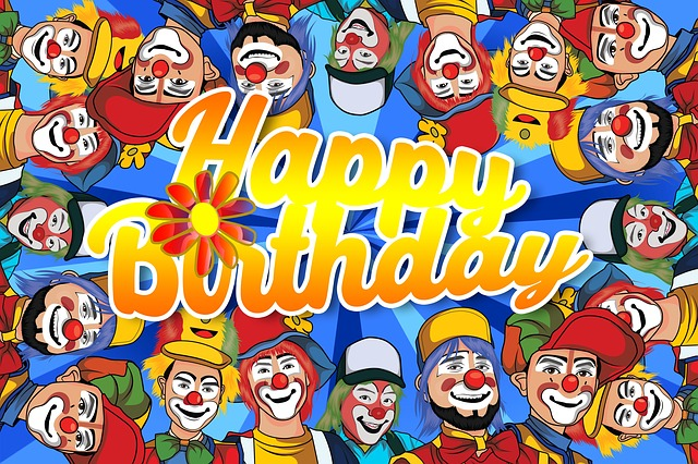 clown birthday